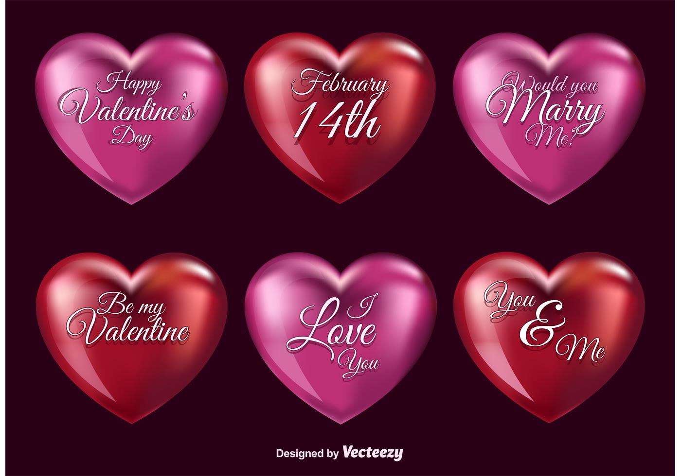 3d Love Hearts Download Free Vector Art Stock Graphics Images