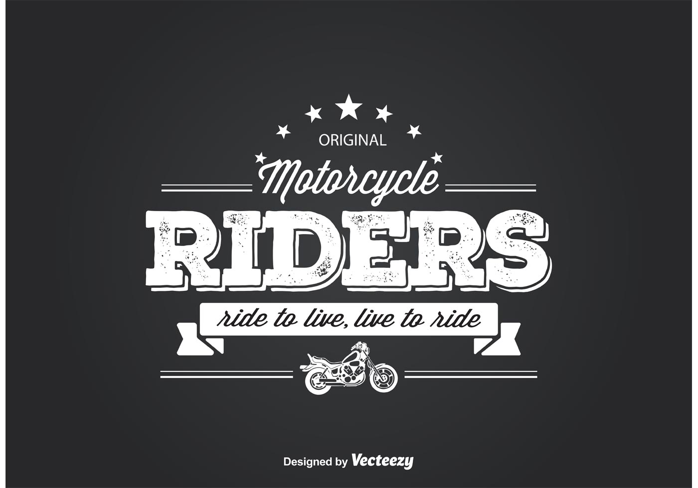 Motorcycle riders t shirt design download free vector for T shirt design vector free