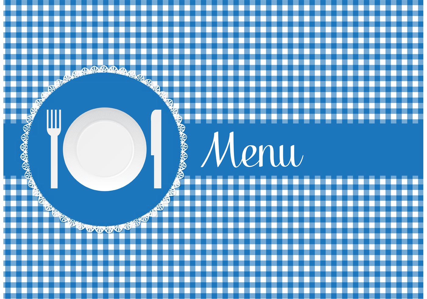 Free Menu Card With Paper Plate Vector Download Free Vector Art Stock Graphics Amp Images