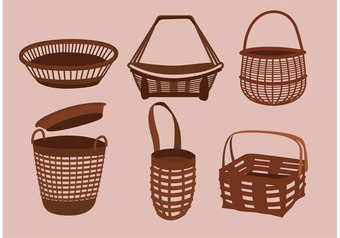 Simple Old Basket Designs