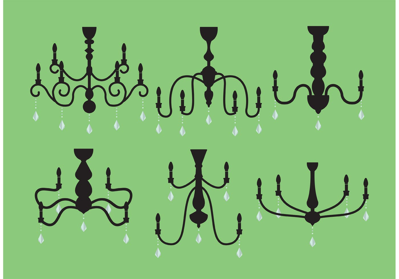 How to pack a chandelier how to remove a chandelier from crystal chandelier vector pack arubaitofo Choice Image