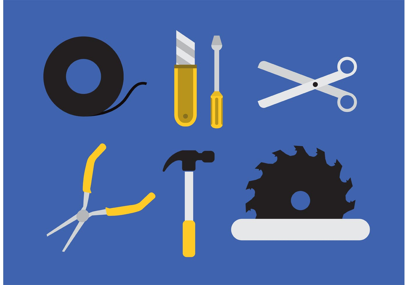 Tool Vector Ollection Download Free Vector Art Stock