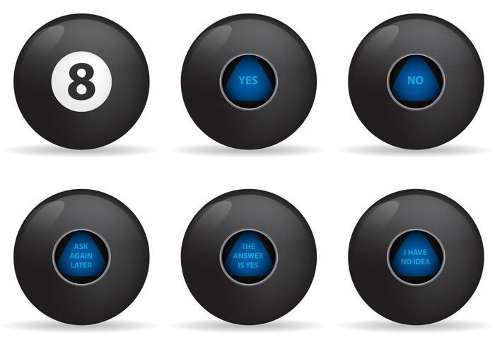 Magic 8 Ball Vectors