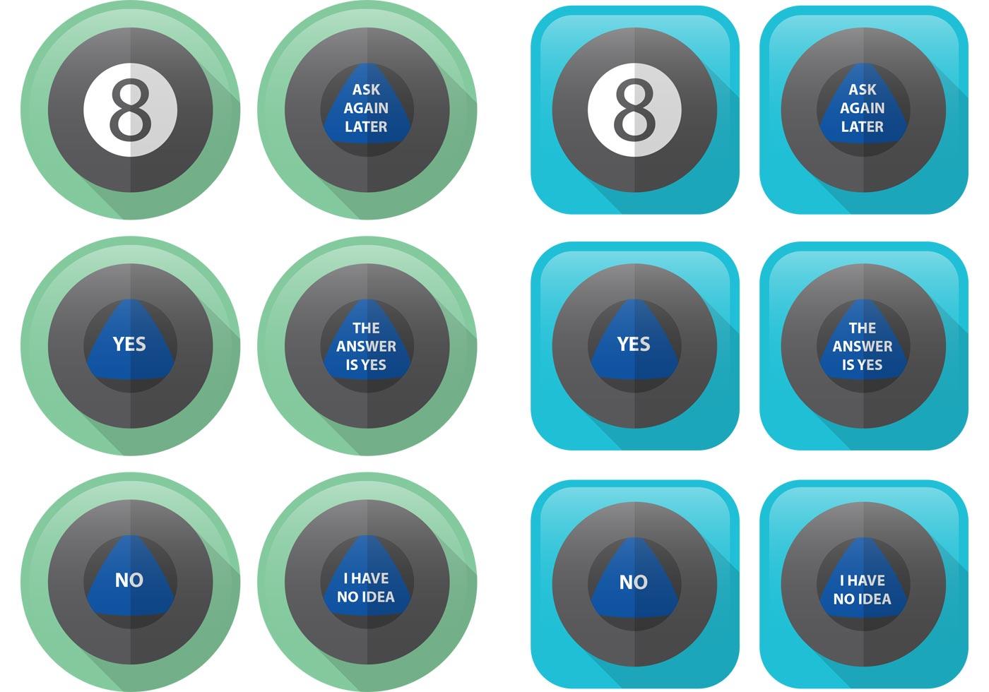 Flat magic 8 ball vectors download free vectors clipart graphics vector art - 8 ball pictures ...