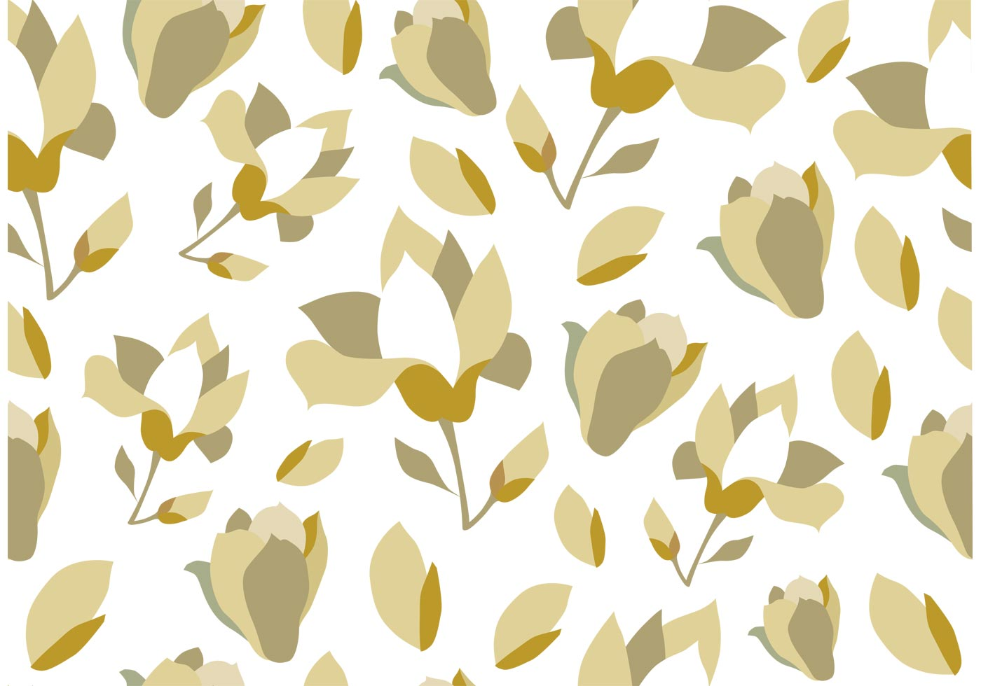 Seamless floral background download free vector art stock graphics images - Floral background ...