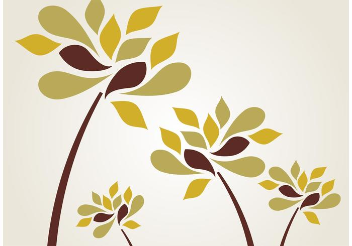 Stylized Flower Vectors