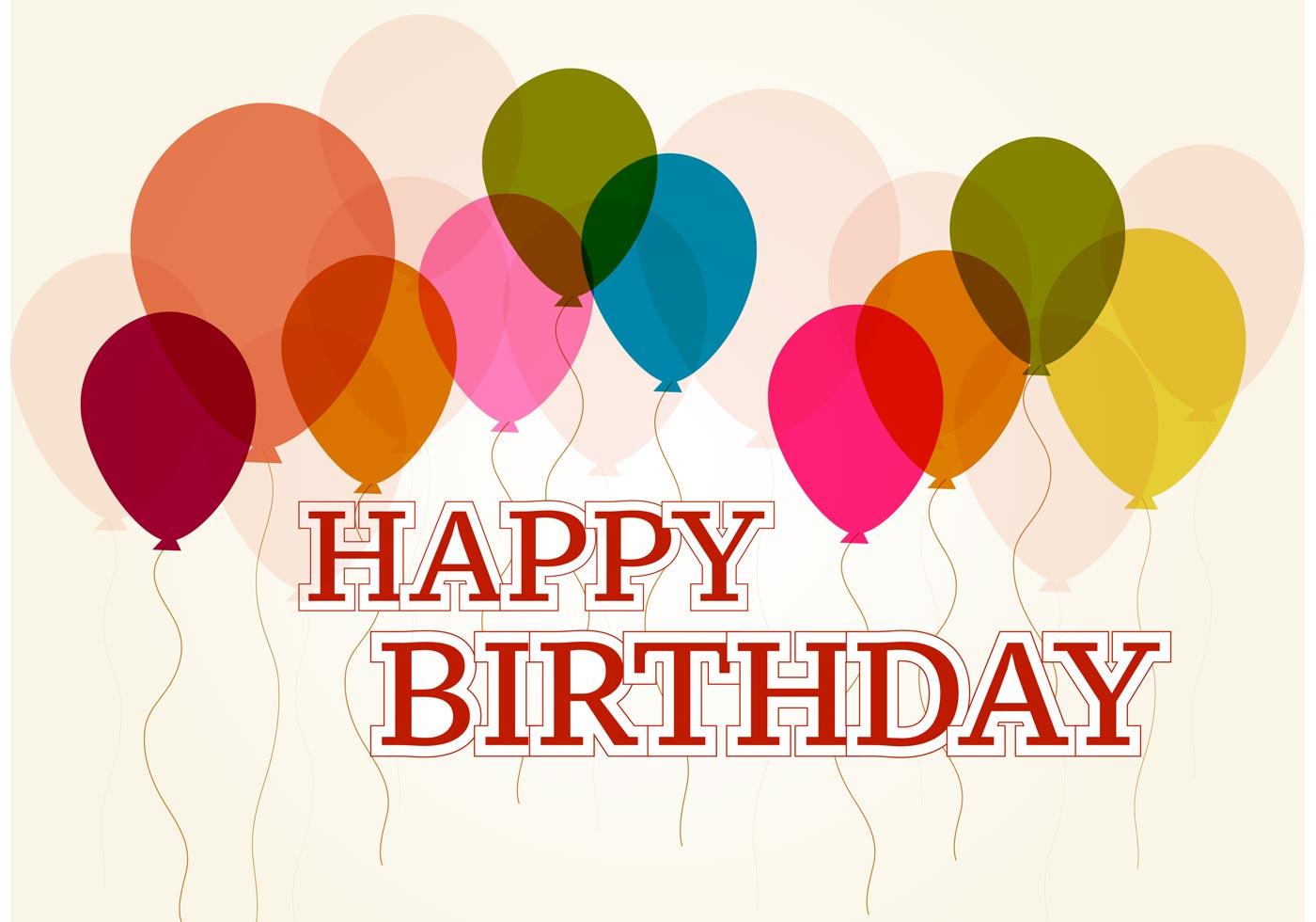 Happy Birthday Vector Download Free Vector Art Stock
