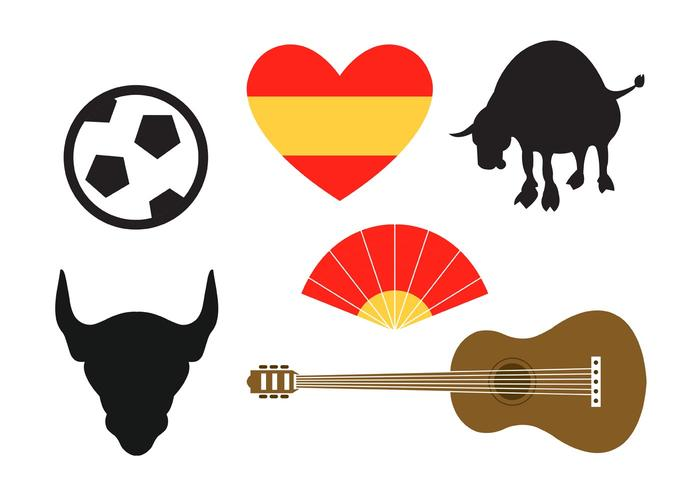 Spanish Vector Icons