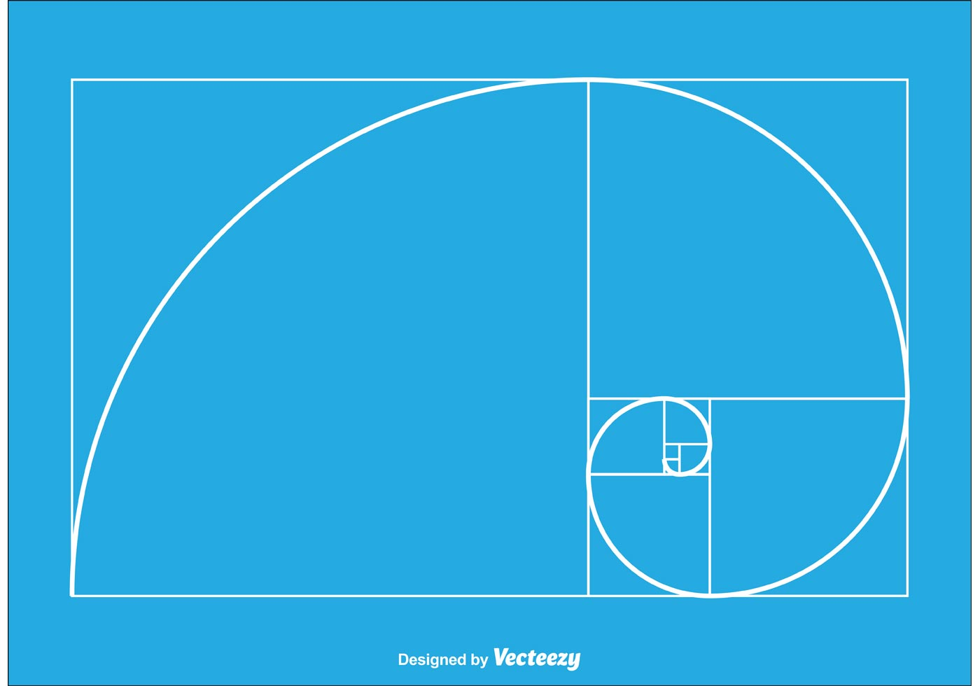 86641 Golden Ratio Vector on Square Grid