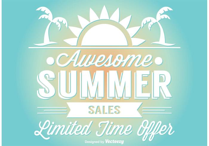 Summer Sale Illustration vector