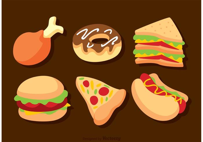 Delicious Fast Food Vectors