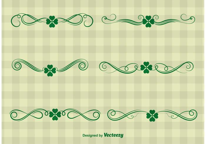 St Patrick's Day Ornament Vectors