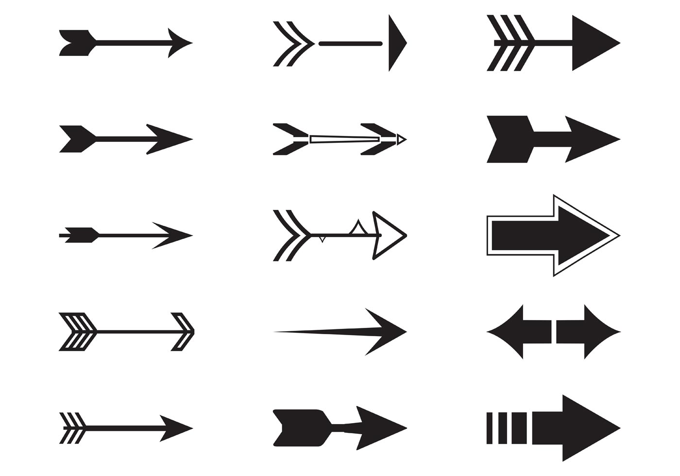 Vector arrows download free vector art stock graphics for Arrow clipart