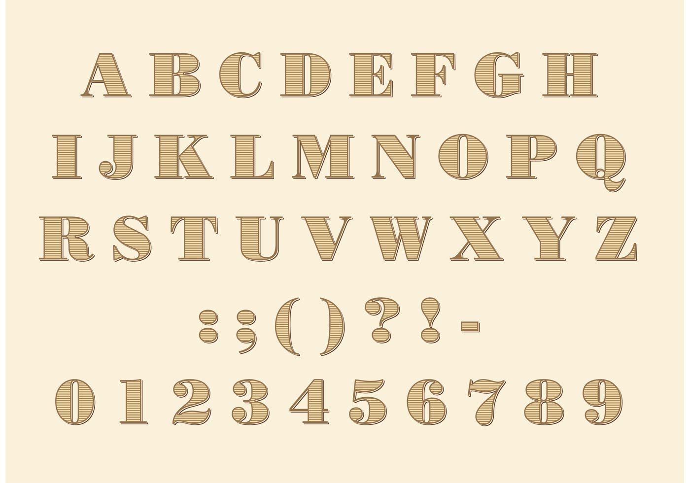 Download Didone Font Vector - Download Free Vector Art, Stock ...