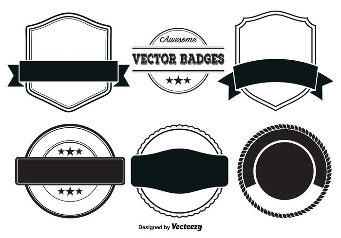 Vector Badge Templates Download Free Art Stock Graphics