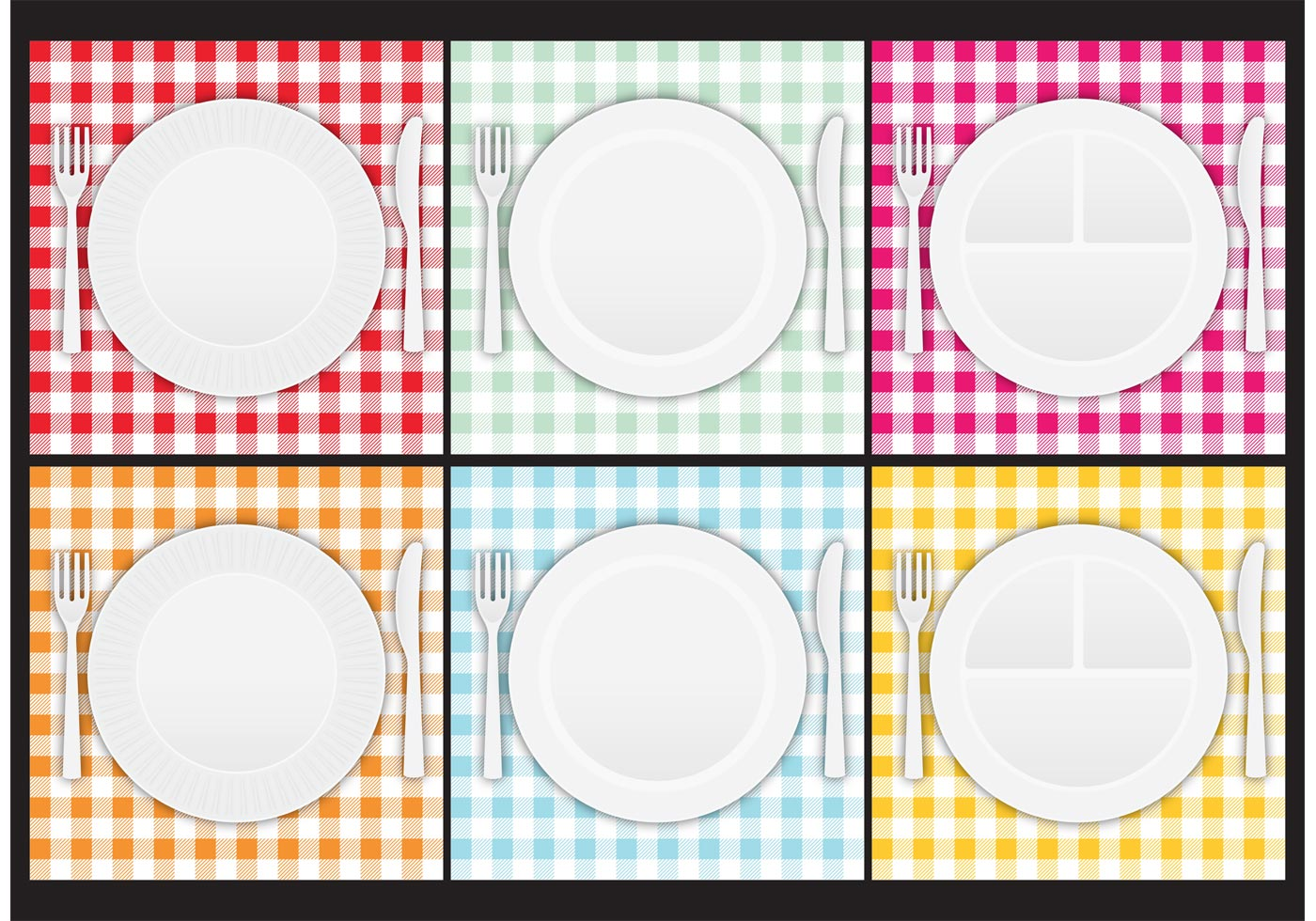 Paper Plate Vectors Download Free Vectors Clipart