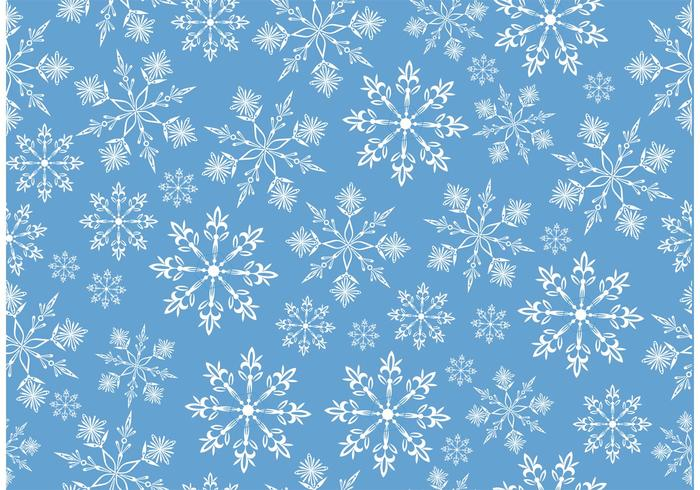 Snowflake Vector Background