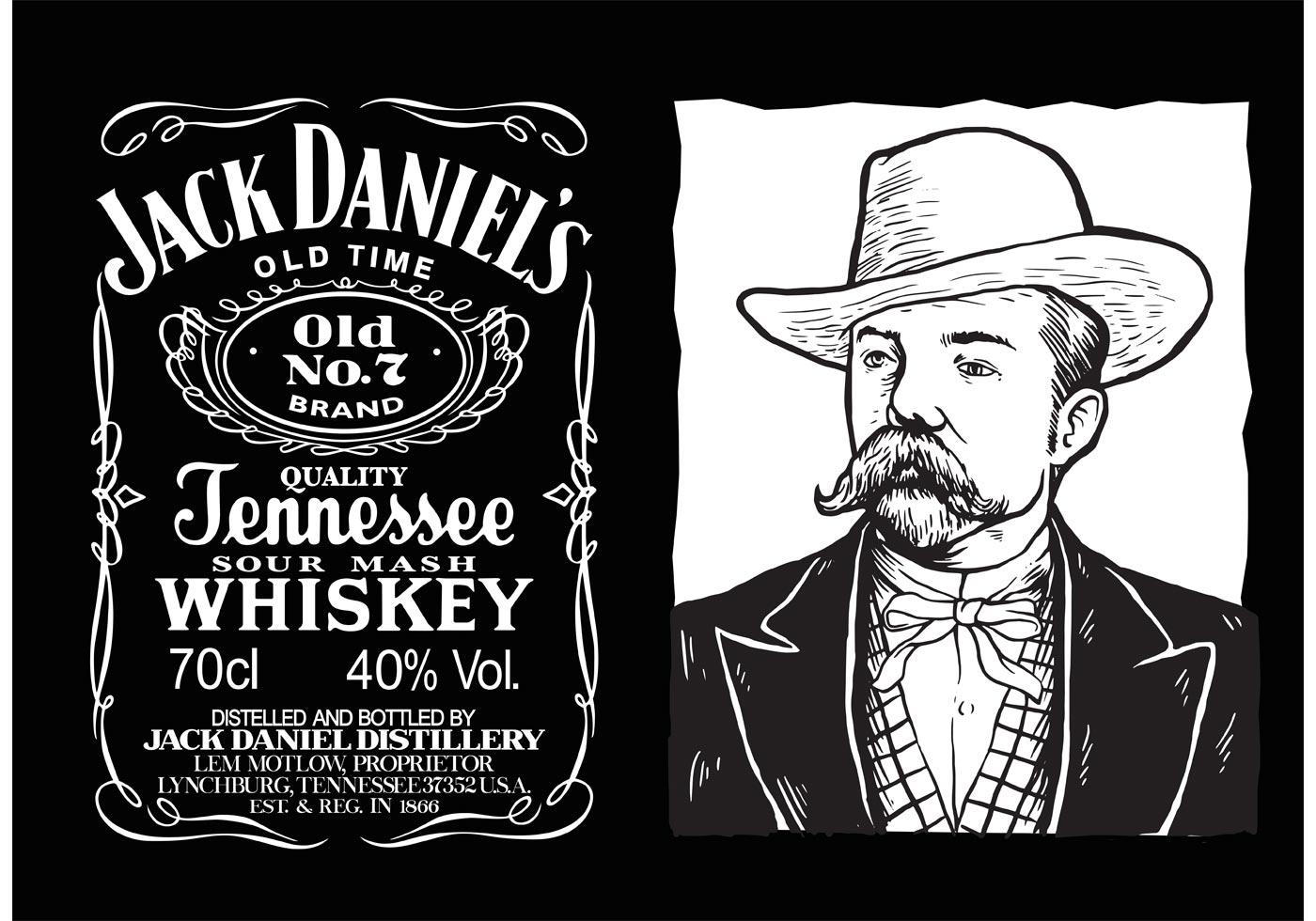 Jack Daniels Vector Label Download Free Vector Art