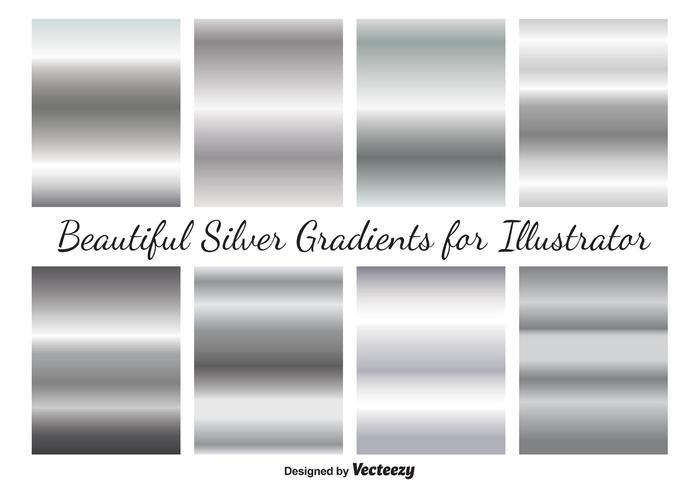 Vector Silver Gradients