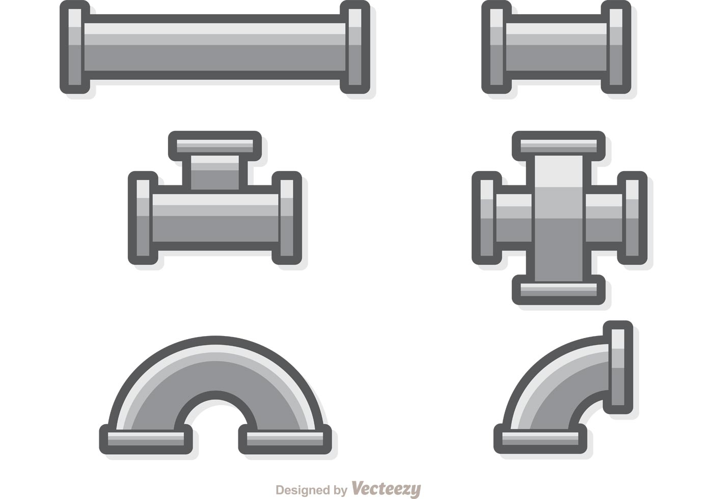Sewer Pipe Set Vector - Download Free Vectors, Clipart ...
