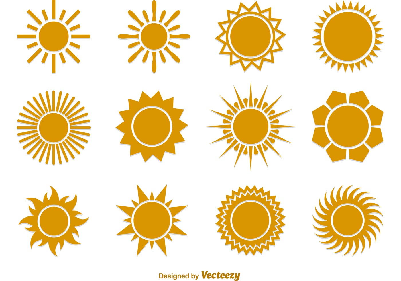 Sun Icon Vector Free Download Sun-vector-flat-icons
