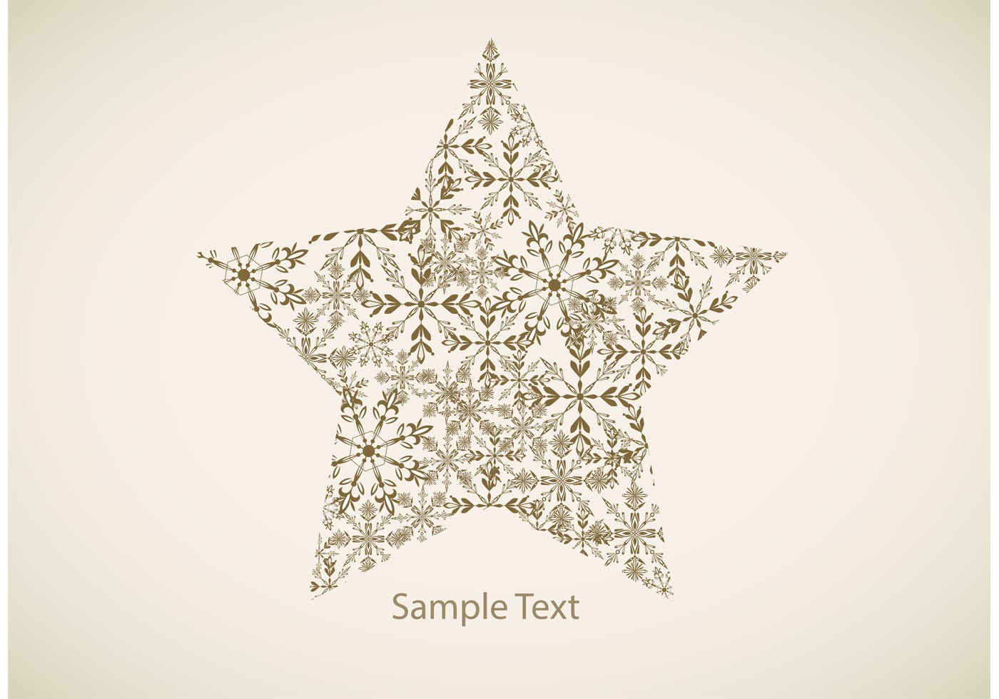 Christmas Tree Star Template
