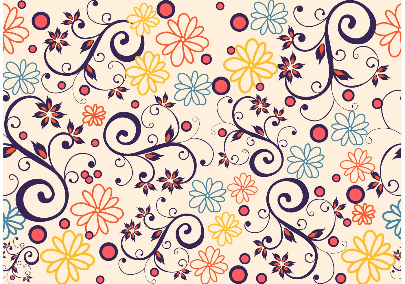 seamless floral background - photo #12