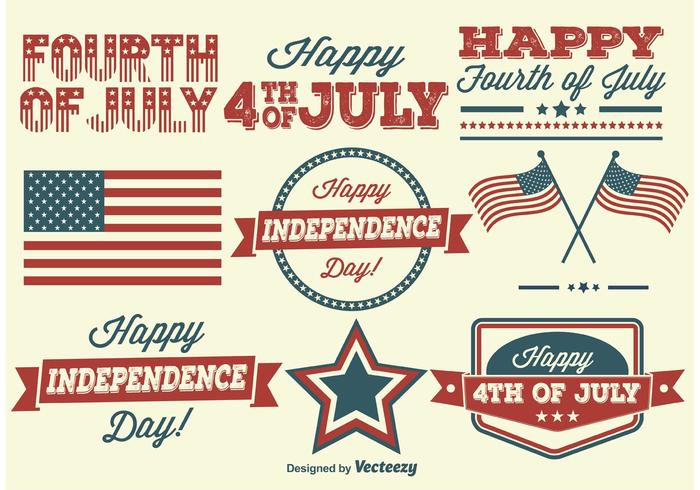 Independence Day Labels