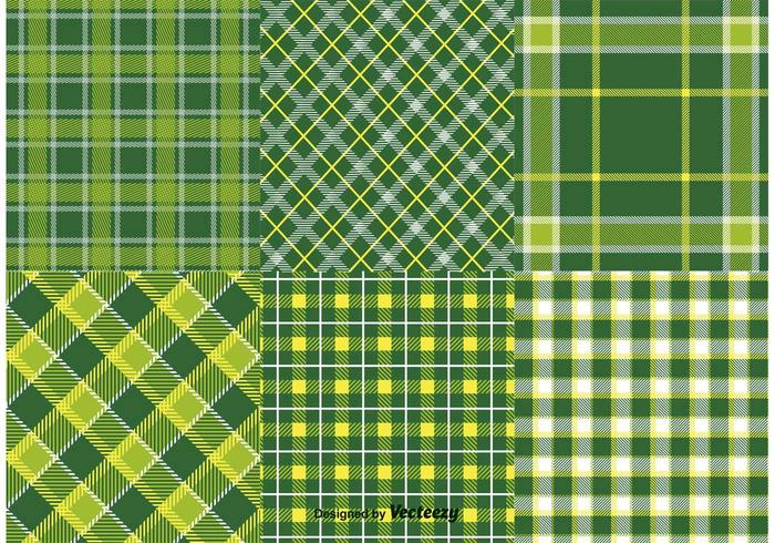 Saint-Patrick's Day Textile Patterns vecteur