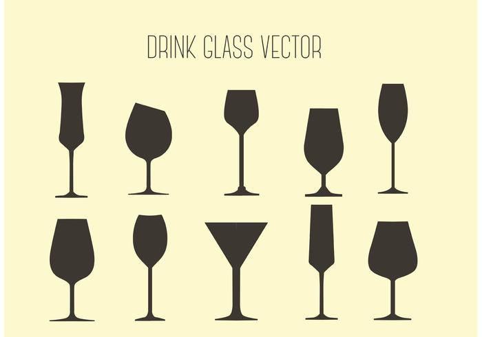 Free Vector Drink Glasses