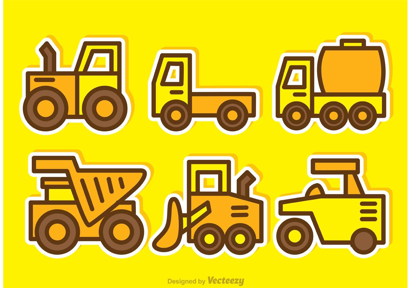 Cartoon Dump Trucks Vectors Download Free Vector Art