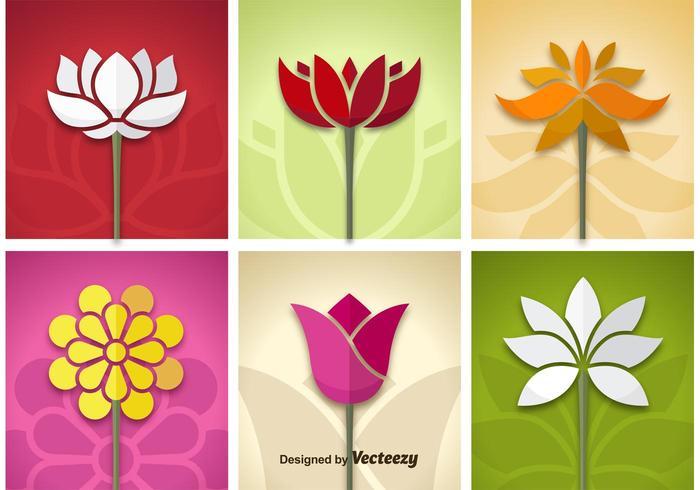 Blumenvektoren
