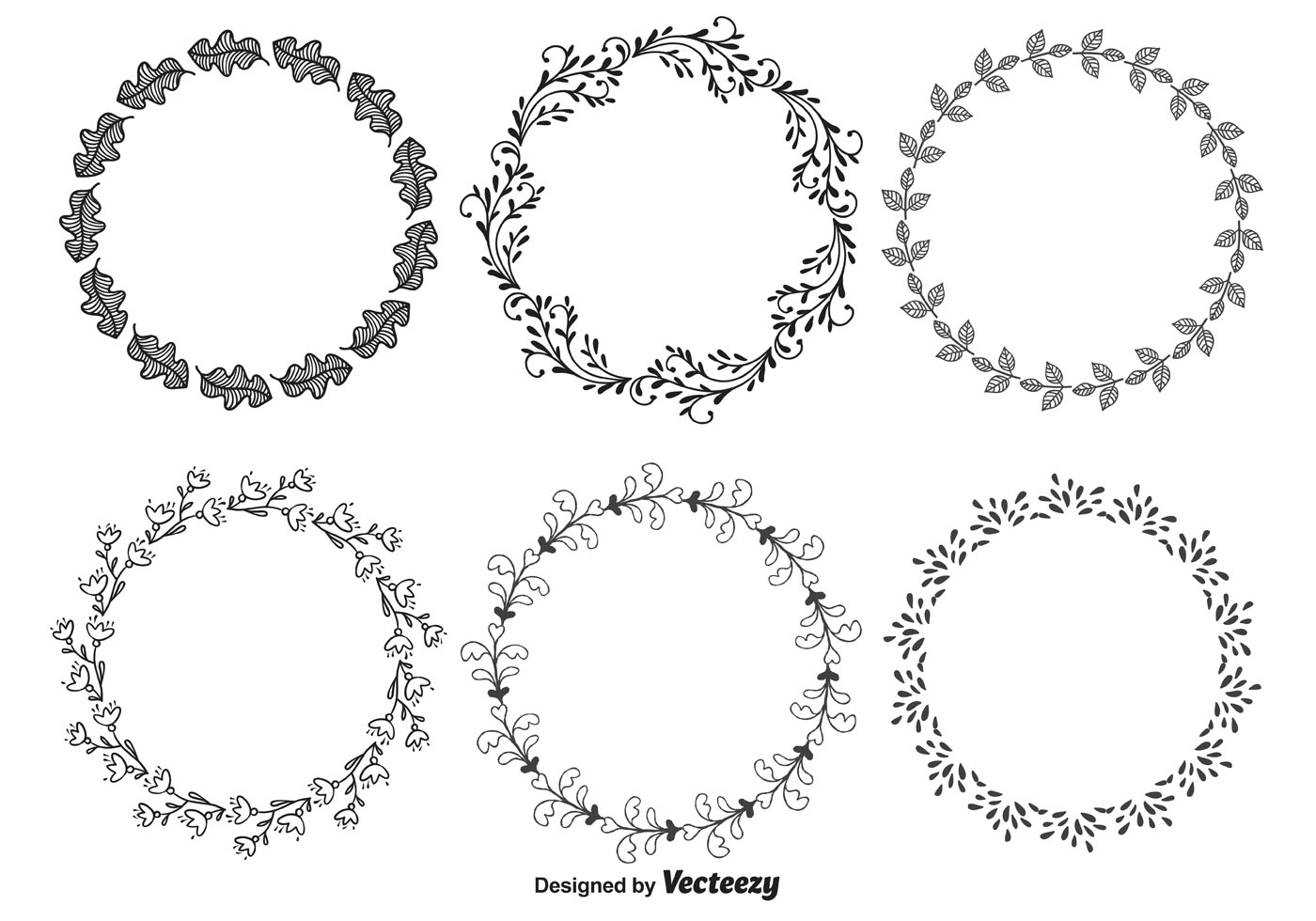 Hand Drawn Decorative Frames - Download Free Vector Art, Stock ...