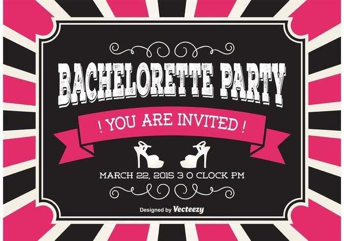 Bachelorette Party Invitaion