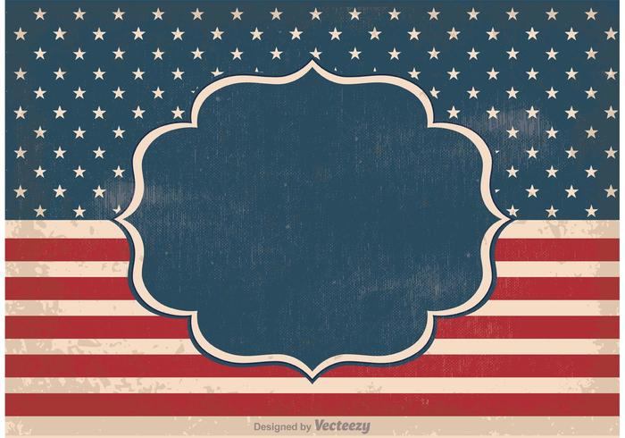 Old Vintage Independence Day Background