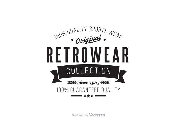 Retro Vintage Insignia Template