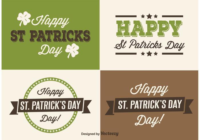 Saint Patrick's Day Labels