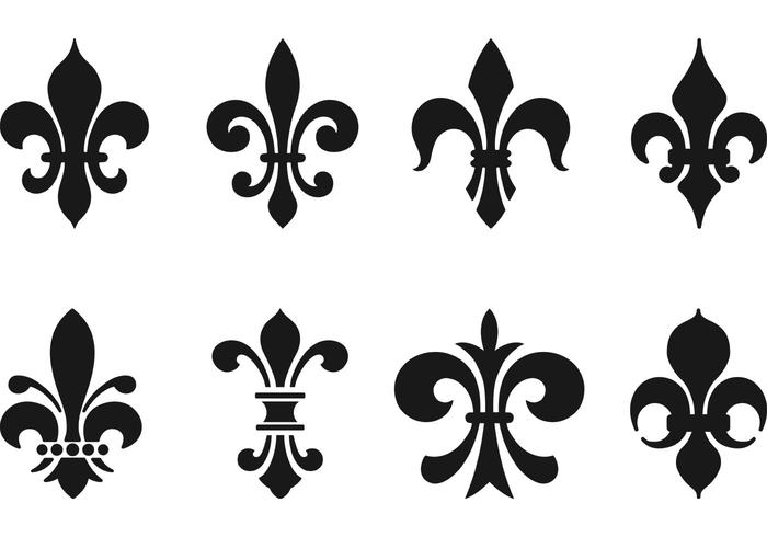 fleur de lis vector pack download free vector art stock graphics