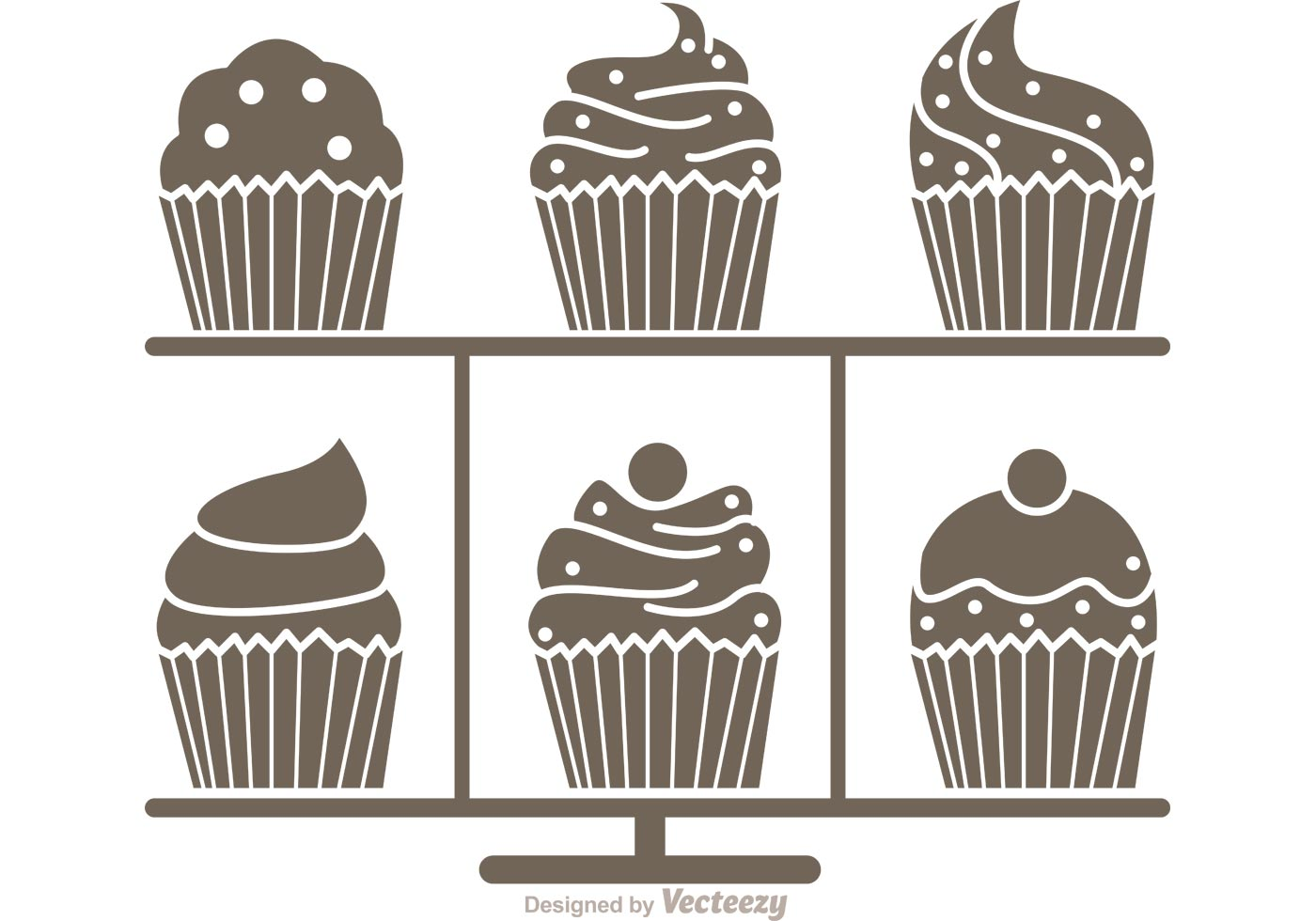Free Vector Cake Stand
