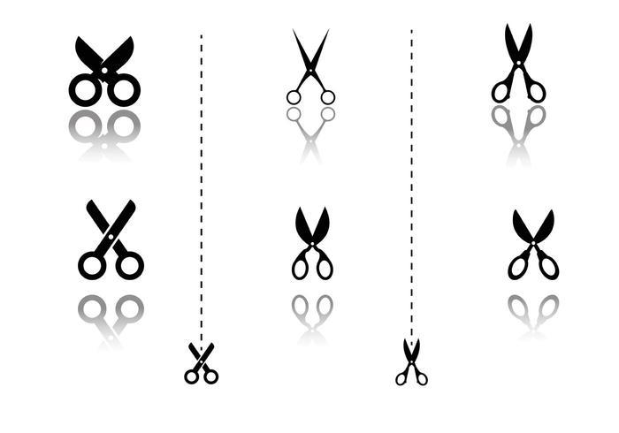 Scissors Coupon Vector
