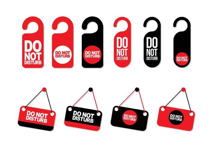 Do Not Disturb Vectors