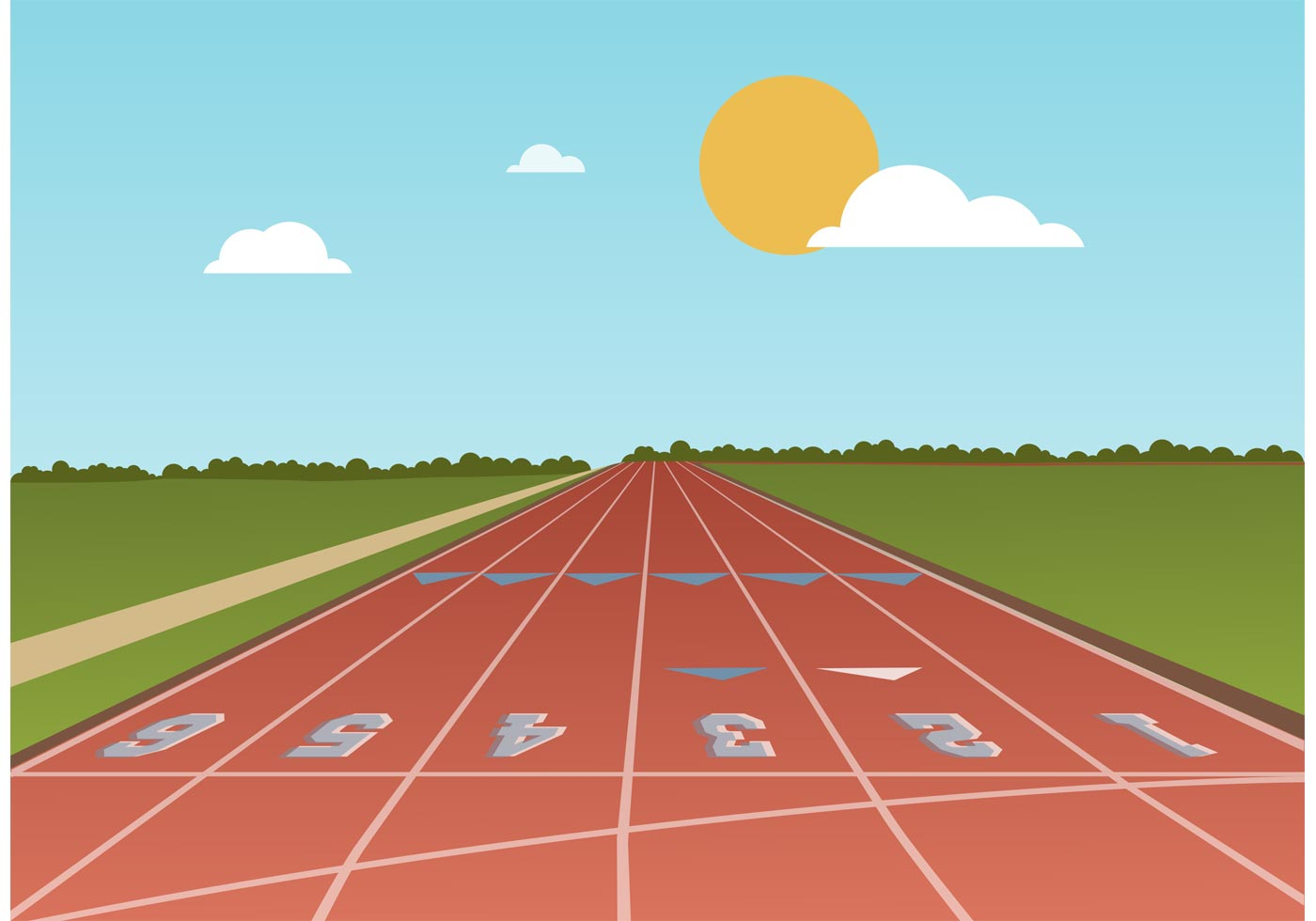 essay on running track and field It's part of a collection of essays from the new book, night running  i was a  good-field, no-hit sparkplug softball player  the weather got colder and i moved  inside and began running at night, on the indoor track at my gym.