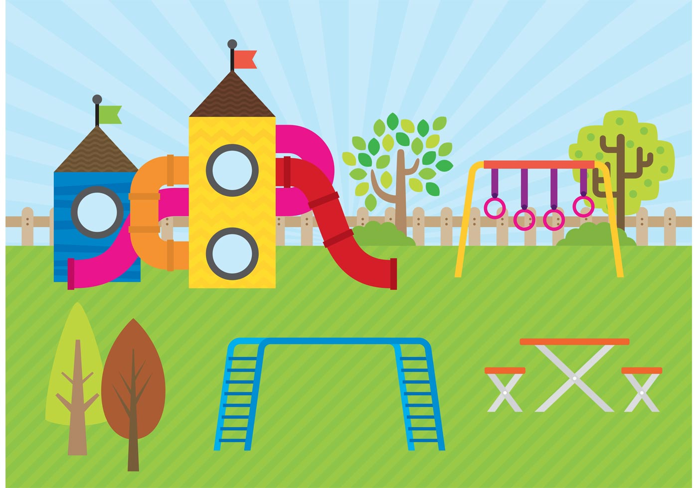 Playground Vector - Download Free Vectors, Clipart ...