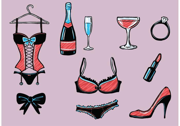 Free Bachelorette Party Vectors