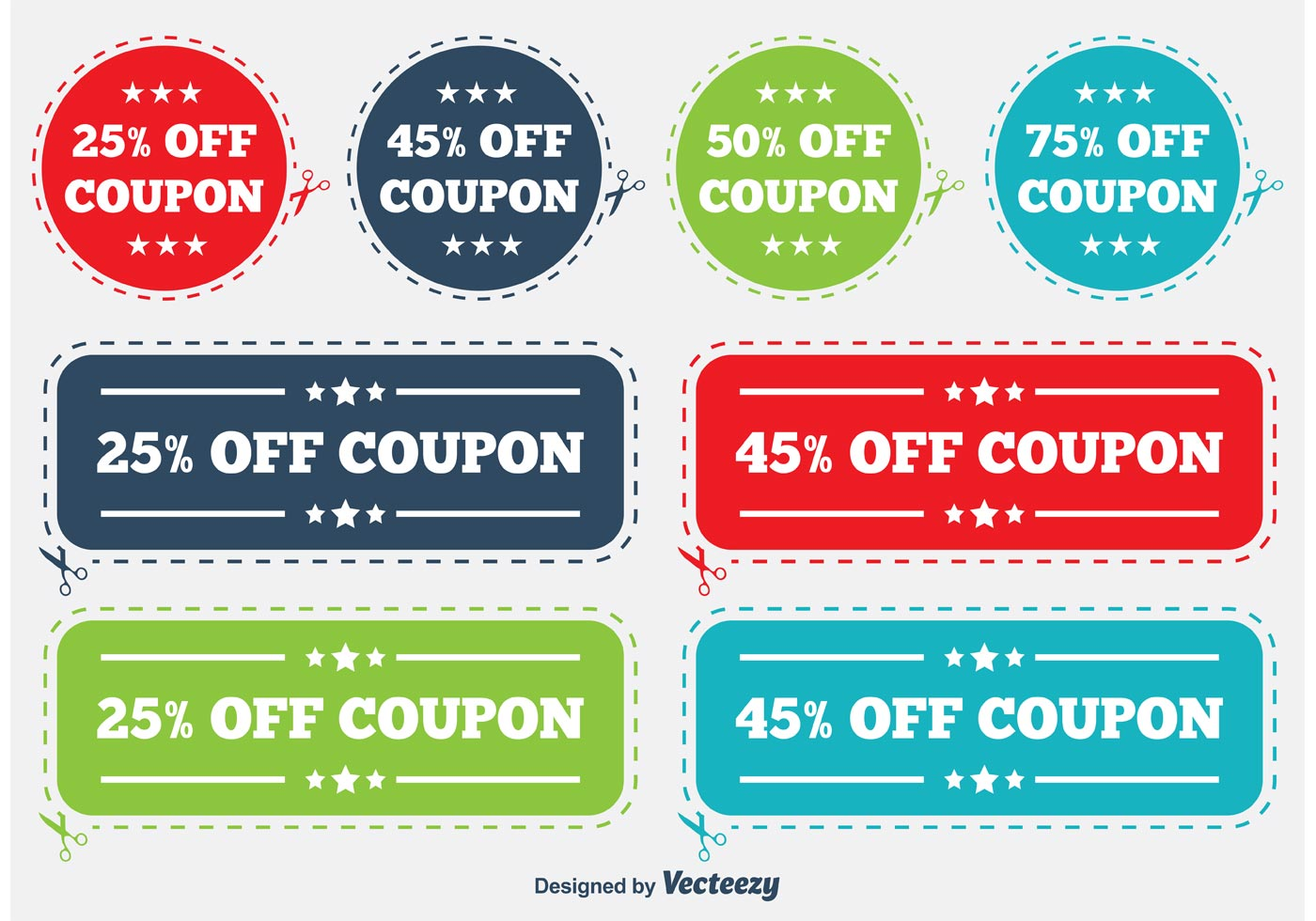Discount Coupon Labels - Download Free Vectors, Clipart ...