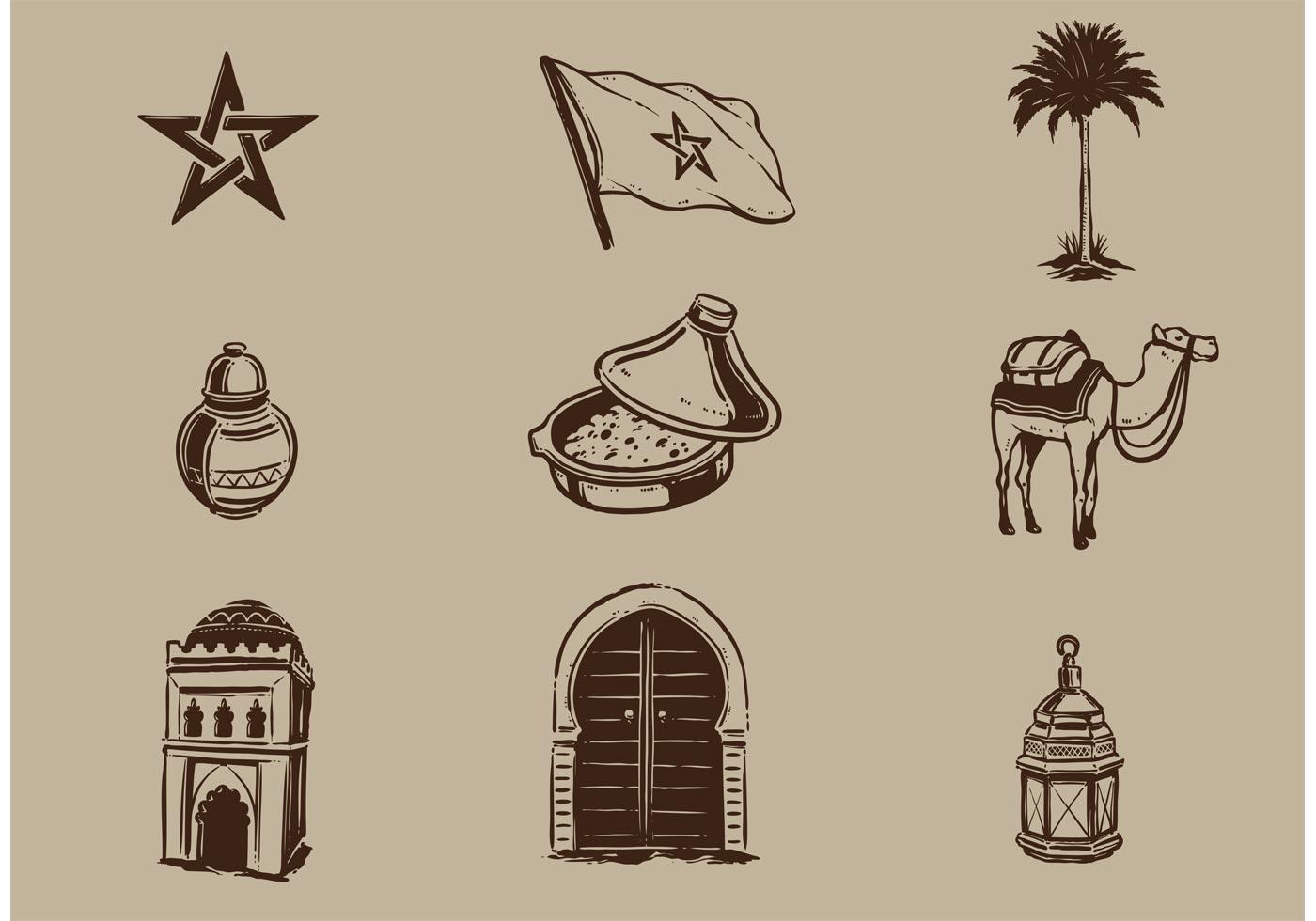 Free Morocco Vector Elements
