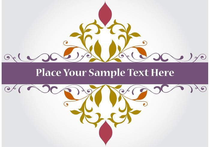 Purple Banner Vector Background