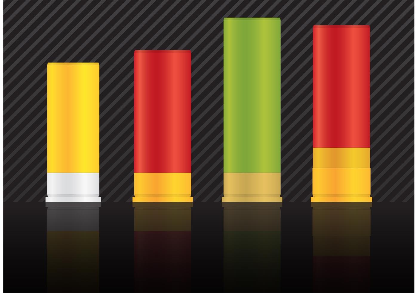 shotgun shells vectors