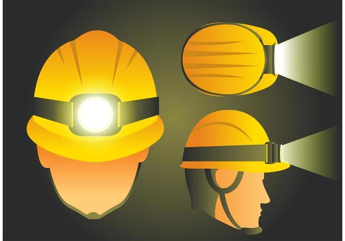 Helmet with Light Vectors