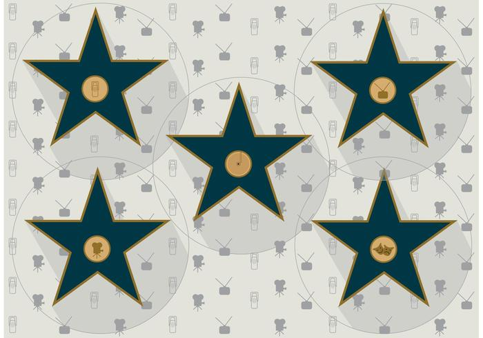 Walk of Fame Vector Sterren